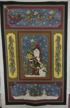 Patchworkstoff Quilt Panel *Nostalgic Noel*  60x110cm 103