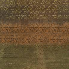 Patchworkstoff Quilt Batikstoff *Vienna* in grün/braun mit Farbverlauf
