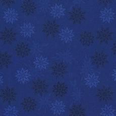 Patchworkstoff Quilt Weihnachtsstoff *Sea*Dunkelblauer Stoff mit Sternen