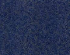 Patchworkstoff Stoff Quilt, blau mit silber Glitzer