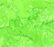 Patchworkstoff Quilt Batikstoff Einfarbiger Batik in leuchtend Grün