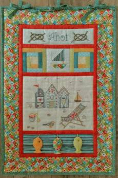 Materialpackung Wandquilt *AHOI* 36x54 cm mit Stickpackung