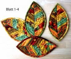 Materialpackung `Mug Rug (5) für 5 Blätter als Untersetzer