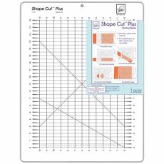 Zubehör Shape Cut Plus, Slotted Ruler, 12 x 18-inch