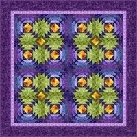 Kostenlose Nähanleitung Quilt `Sparkling Jewels` von Debiie Beaves for RJR Fabrics