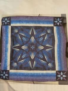 Materialpackung Quilt `Kristall` 1,56 x 1,56m