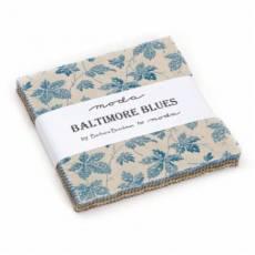 Moda Charm Pack * Baltimore Blues* von Barbara Brackman MCP BB
