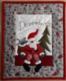 Nähanleitung Wandbild *Dezember*