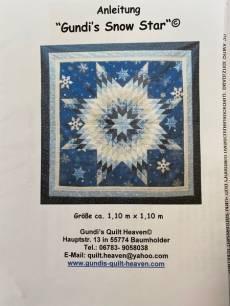 Nähanleitung für Gundis Snow Star