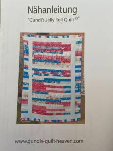 Nähanleitung für Gundis Jelly Roll Quilt