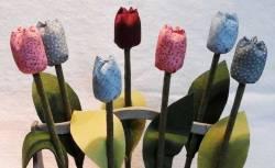 Nähanleitung für *Sieben Tulpen*