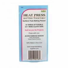 Heat Press Batting Together 3/4 Inch x 10 Yards