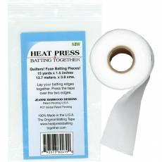 Heat Press Batting Together 1,5 Inch x 15 Yards