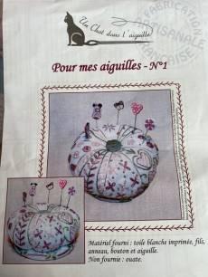 Stickbild Nr. 826 Pour mes aiguilles Nr. 1