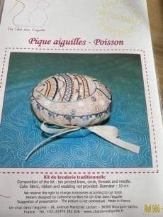 Stickbild Nr. 966 Pique aiguilles - Poisson