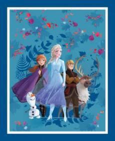 Patchworkstoff Panel *Frozen - Friends Forever*