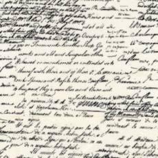 Patchworkstoff Quilt *Old Script* Michael Miller Reststück von 0,62 x 1,10 m