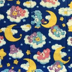 Patchworkstoff Quilt *Carebears* mit Nachts leuchtende Wolken Rest 0,75 m