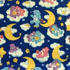 Patchworkstoff Quilt *Carebears* Wolken leuchten REST 37 cm x 110 cm