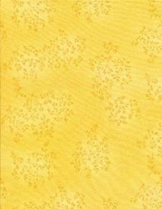 Patchworkstoff Stoff Quilt Willow Lemon Blumenranken zart gelb fleur-C4794-Lemon