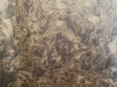 Patchworkstoff Quilt Brauner Stoff marmoriert Reststück ca. 130 cm x 130 cm