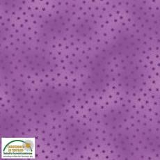 Patchworkstoff Stoff Quilt *Basic Twist*Lila mit Sternchen Stoffabschnitt
