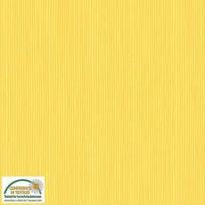 Patchworkstoff Stoff Quilt *Basic Twist* Gelb gestreift Stoffabschnitt