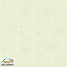 Patchworkstoff Stoff Quilt *Basic Twist* Hellgrün gemustert (gepunktet, Blume) Stoffabschnitt KOPIE