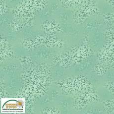 Patchworkstoff Stoff Quilt *Basic Twist* Grün mit kleinen Ranken Stoffabschnitt ca. 50x110cm