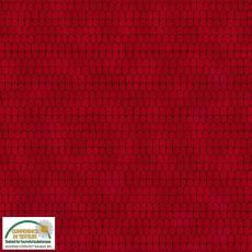 Patchworkstoff Stoff Quilt *Basic Twist* Dachziegeln rot