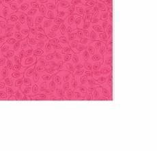 Patchworkstoff Quilt *Bear Essentials* Rosa mit Blätter