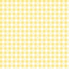 Patchworkstoff Quilt Stoff Sorbets kariert gelb Reststück 0,39x1,10 m