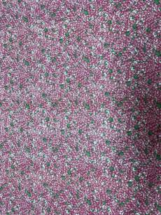 Patchworkstoff Quilt Stoff von M.A.I. Patchwork klein, rosafarbene Blümchen