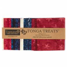 *Patriot* Tonga Treats 40 Stück; 5x5Inch Square cuts