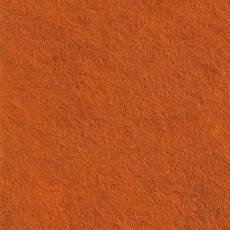 Wollfilz; Filz; Bastelfilz CP 007 Farbe: Kürbis(ca.30x45 cm)