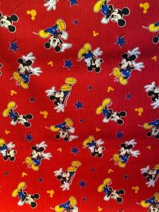Patchworkstoff Mickey Mouse