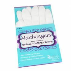 Machingers Quilting Gloves - Maschine Quilten Handschuhe Free Motion 0209G