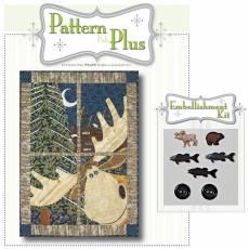 Pattern Pak Plus *North Woods Moose*