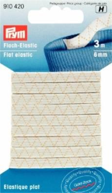 Flach-Elastic Band; 3m/6mm