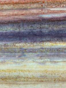 Batikstoff; Farbverlauf von Braun zu hellerem braun