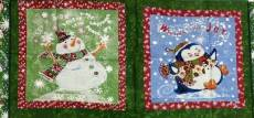 Patchworkstoff Quilt Panel *Season´s Greetings* 44 x 110 cm Teil A