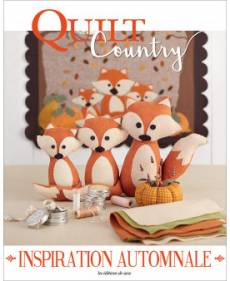 Patchwork Magazin Quilt Country 62- INSPIRATION AUTOMNALE