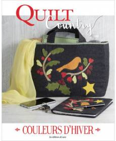 Patchwork Magazin Quilt Country 63- COULEURS D`HIVER