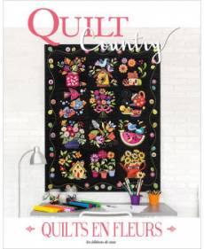 Patchwork Magazin Quilt Country 65- QUILTS EN FLEURS
