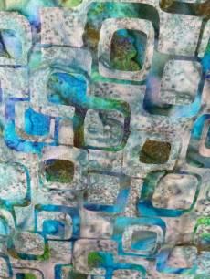 Batikstoff Hoffman Fabrics *Aquamarine*