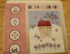 Patchworkstoff Panel (ca. 60cm) *Life is beautiful* Hugs and kisses