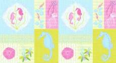 Patchworkstoff  Panel 60x110 cm *Full Moon Lagoon*