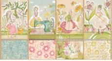 Baumwollstoff  Panel The Makers 4 (ca. 30x55cm) Cori Dantini