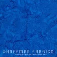 Batikstoff  *Mittelblau*Hoffman Fabrics