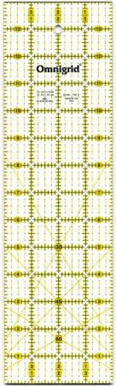 Lineal Ruler 4 Inch x 14 Inch Omnigrid R14